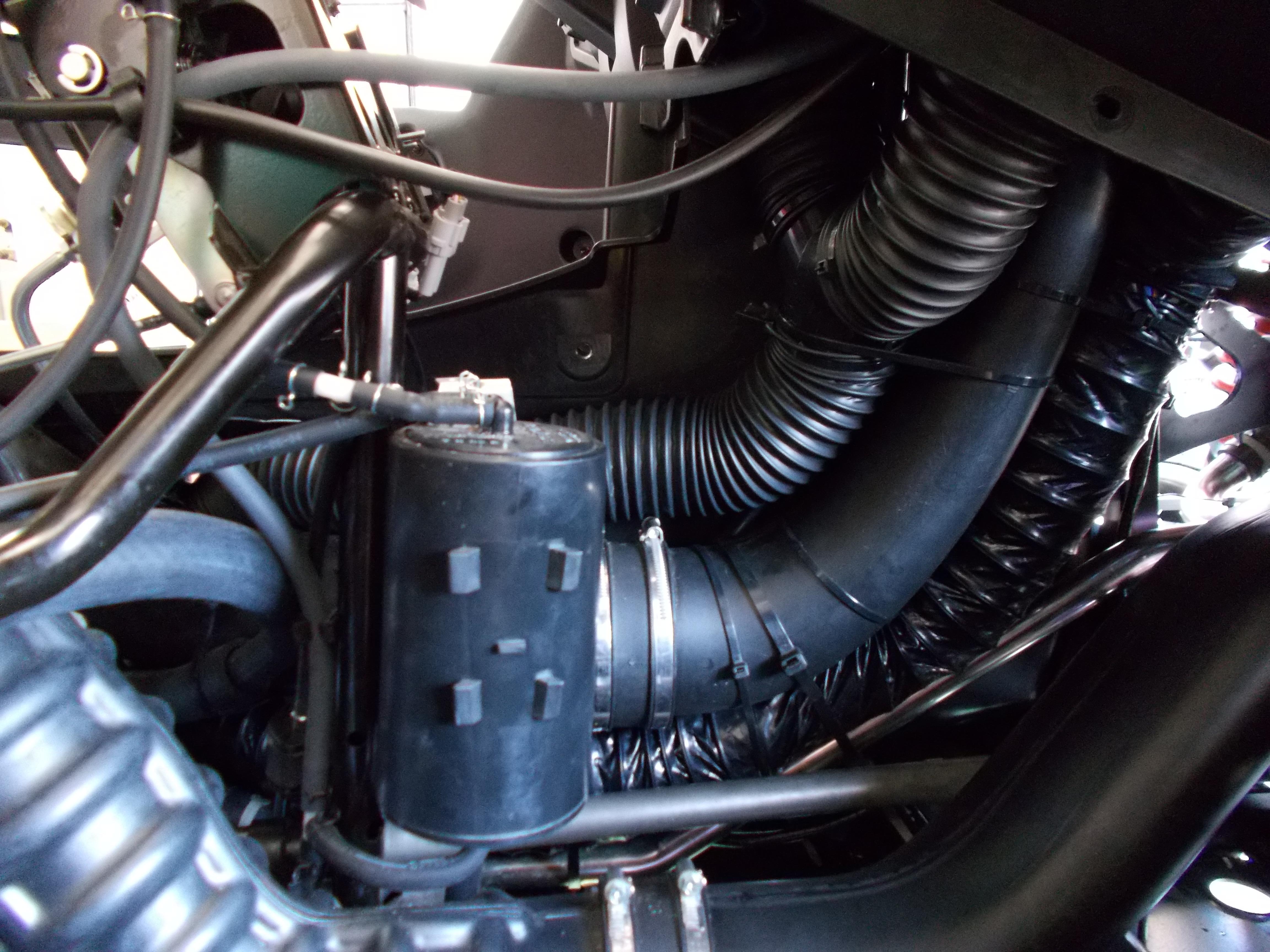 Summit Heater Installed In The Wolverine X4 Toasty Ride