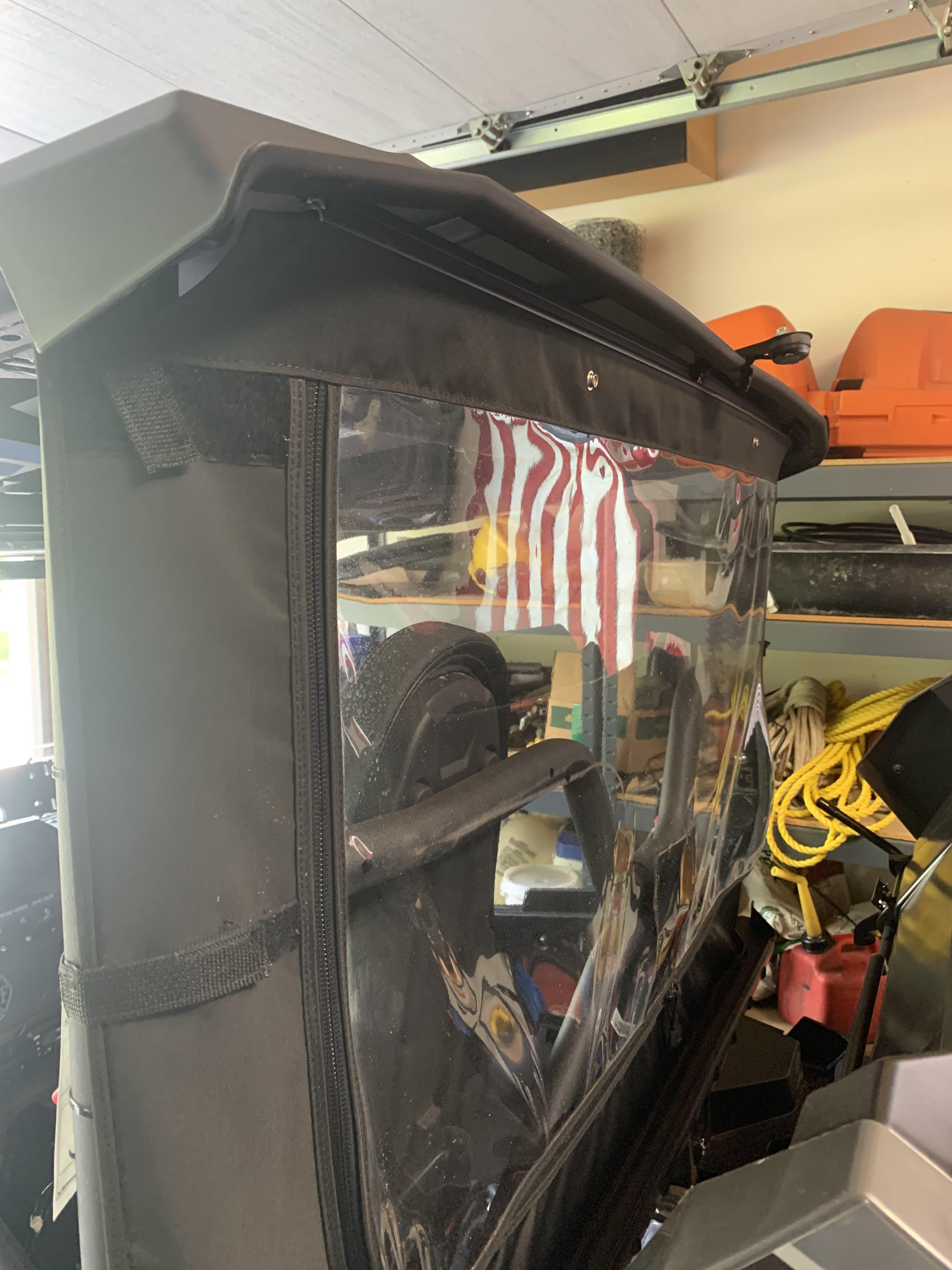 Rear windshield