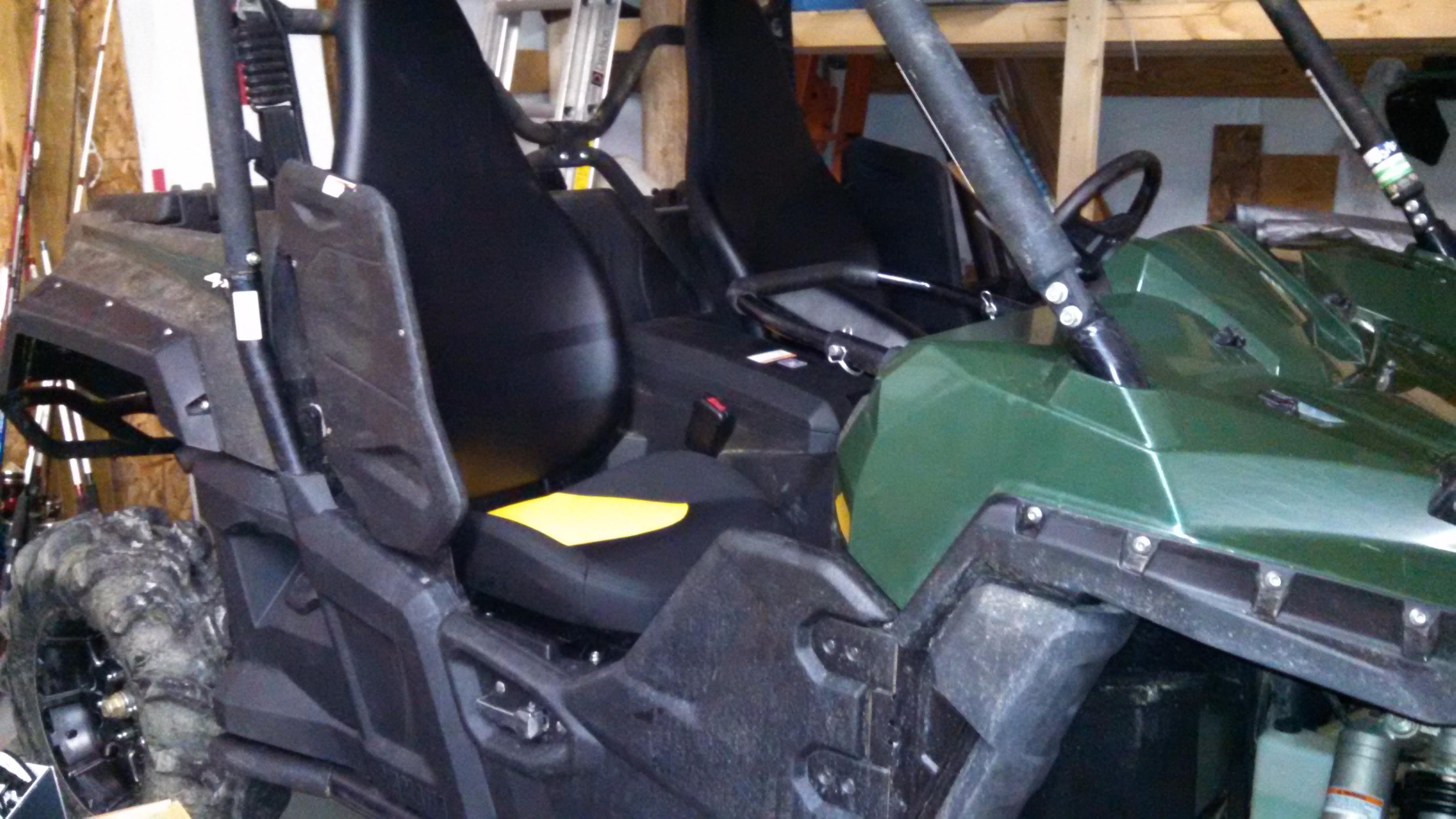 Wolverine steering wheel problems