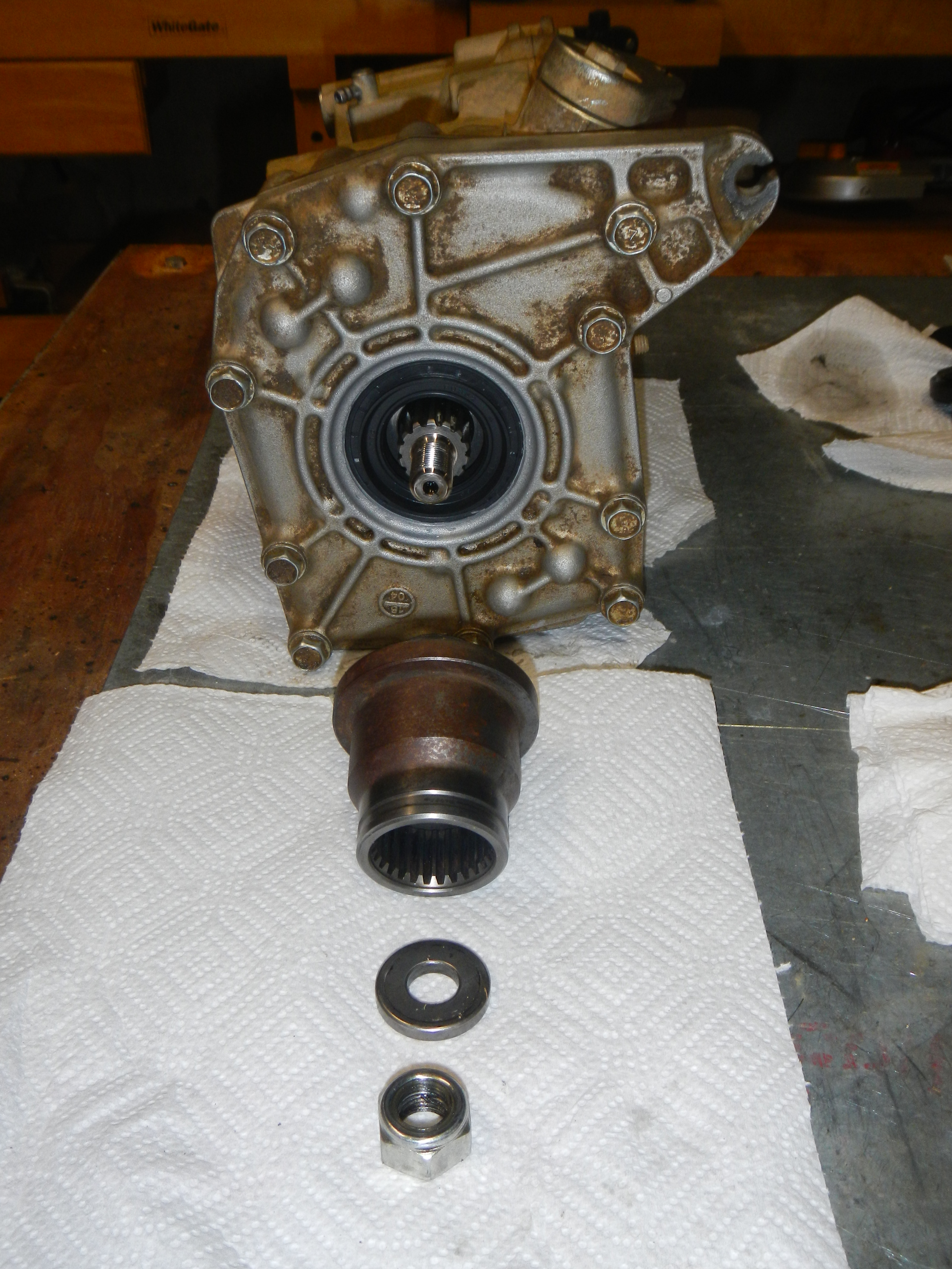 Name:  Order Parts go on Front of Differential.JPG