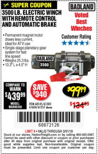 By Photo Congress || Harbor Freight Badland Winch Review